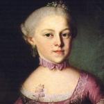 Годовщина смерти  Марии Анны Вальбурги Игнатии Моцарт
